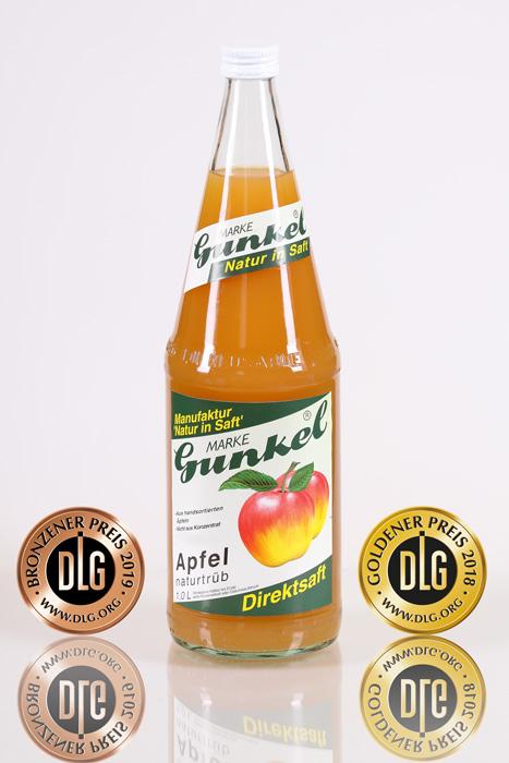 Apfelsaft naturtrüb<br/>1 Liter Flasche